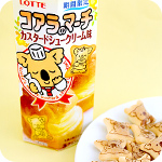Lotte Koala March Biscuit - Custard Cream
