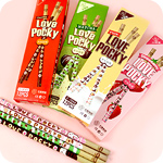 Kawaii Love Pocky Stick Pencil Set