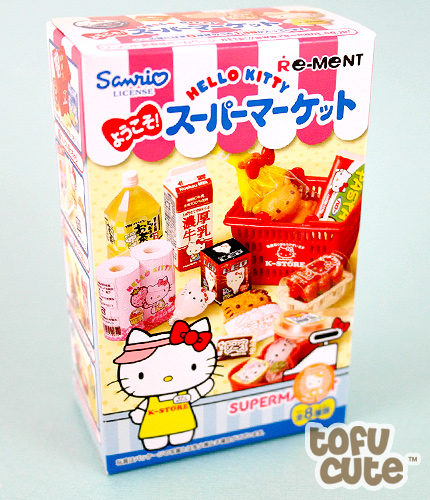 Buy Re Ment Hello Kitty Welcome Supermarket Miniature At