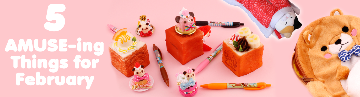 5 Cute AMUSE-ing Things for February!