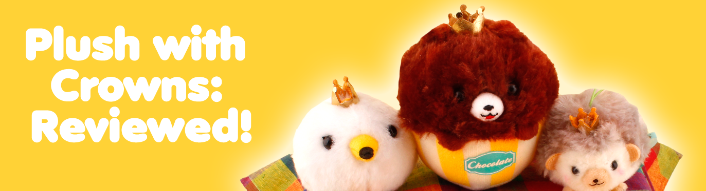3 New AMUSE Plush with Crowns - Reviewed!
