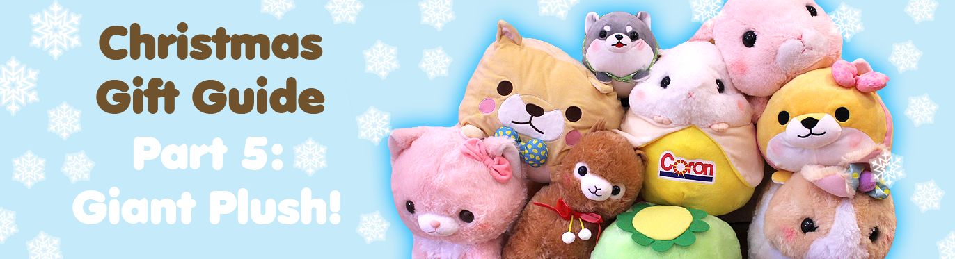 Christmas Gift Guide: GIANT Plush (Feat. Quinn The Husky)