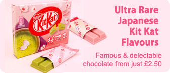 Buy Japanese Kit Kats from just �2.50