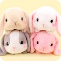 Poteusa Loppy Bunny Tsumikko Small Plush