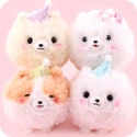 Fuwa Mofu Pometan Goodnight 13cm Plush