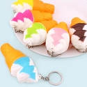 Squishy Scented Ice Cream Keyring