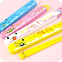 Kawaii Tofu Chopsticks in Holder
