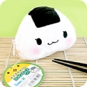 San-X Onigiri Rice Ball Plush Purse