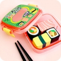 Set of 4 Kawaii Sushi Bento Box Erasers